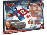Multiprint Disney Cars - stempel/stickermachine set