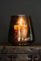 Rivièra Maison Spring Creek Hurricane - Windlicht - Glas - 15x16cm