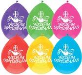 Ballonnen - Welkom Sinterklaas - 10 ballonnen per verpakking