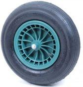 Kruiwagenwiel Standaard 4,80/4.00-8 |Luchtband | gelagerd | met  as