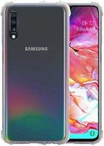 Schokbestendig Transparant TPU Hoesje voor Samsung Galaxy A70