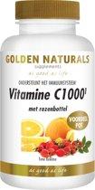 Golden Naturals Vitamine C1000+ Rozebottel - 250 Tabletten  - Vitaminen