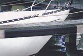 Talamex zwarte Steigerfender 135 cm