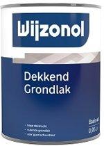 Wijzonol Dekkend Grondlak, Wit  - 500 ml