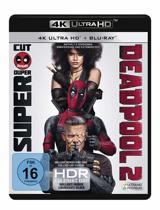 Deadpool 2 (Ultra HD Blu-ray & Blu-ray)