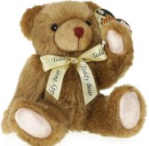 Toi-toys Knuffelbeer Donkerbruin 35 Cm