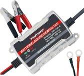 Acculader / Duppellader 6/12V 750mA + Accutester Bundel