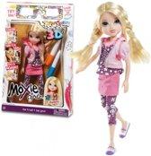 Moxie Girlz Art-titude Avery pop met accessoires
