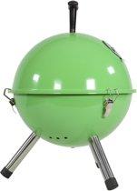 EezyLife Houtskoolbarbecue - Tafelmodel - Ø32 cm - Groen