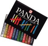 Talens oliepastel Panda 12 pastels