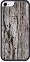 iPhone 8 Hardcase hoesje Oud hout