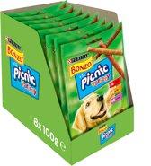 Bonzo Picnic Variety Hondensnack - 8 x 100 g
