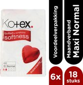 Kotex Maxi Normal Maandverband - 6x 18 stuks