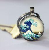 Geschenk voor hem of haar, Golf sleutelhanger uniek modeaccessoires mooi nautisch cadeau voor uzelf of geliefde