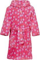 Palyshoes Fleece Bathrobe Flowers pink 122/128