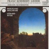 Lieder/Gedichte Mayrhofer