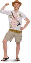 Jungle Jim Safari Shirt Heren - Maat XL - XXL