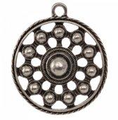 Petra's Sieradenwereld - Zeeuwse knop hanger (33 mm) met 1 oogje (2 stuks)