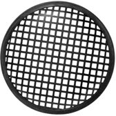 HQ Power 5'' black metal speaker grille Metaal Zwart speaker steun