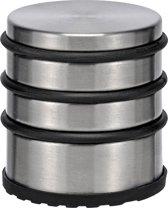 Haushalt Deurstopper - 7x7 Cm - Rvs