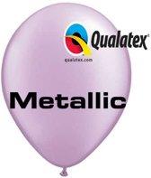 Ballonnen Metallic Lavendel 30 cm 100 stuks