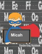 Handwriting Notebook Micah
