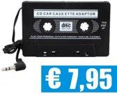 Cassette Adapter voor Smartphone / Ipod / MP3 speler