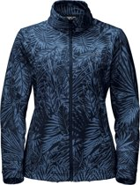 Jack Wolfskin Kiruna Jungle Women - dames - fleecevest - maat L - blauw