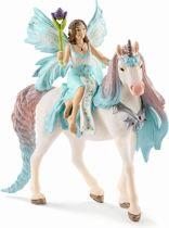 Schleich Elf Eyela op de prinsessen eenhoorn 70569 - Speelfiguur - Bayala - 15 x 8,2 x 18 cm