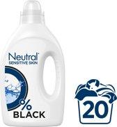 Neutral 0% Parfumvrije Wasmiddel Zwart - 20 wasbeurten