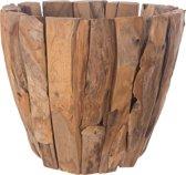 Teak houten plantenbak