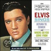 Elvis Sings Return to Sender and Where Do You Come From