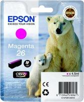 Epson 26 (T2613) - Inktcartridge / Magenta
