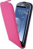 Mobiparts Premium Flip Case Samsung Galaxy S3 Pink