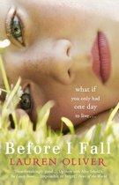 Boek cover Before I Fall van Lauren Oliver (Onbekend)