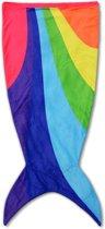 Snug Rug Zeemeermin - Staart Deken – Regenboog - Zeemeermindeken - Plaid - Mermaid Tail - Kinderdeken