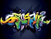 Fotobehang Graffiti Street Art   XXXL - 416cm x 254cm   130g/m2 Vlies