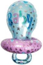 Blauwe Speen Ballon - Kraamcadeau – Geboorte versiering – Geboorte ballonnen – Feest versiering – Baby Shower – Geboorte jongen