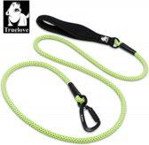 TrueLove Hondenleiband Jogging S (110MM / 180 Cm ) Neon Geel