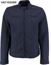 Vanguard blauwe biker winterjas - Maat M