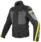 DAINESE CARVE MASTER GTX NERO CASTLE ROCK FLUO YELLOW 60