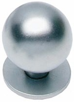 Intersteel - Knop - bol+plaat 30mm - mat chroom - 0017.847610