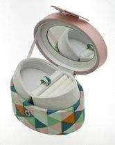 Davidt's oval shape pink- juwelendoos