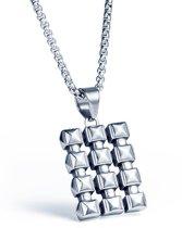 Heren ketting met Titanium kettinghanger