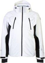 9948e00b545 Icepeak Nemo Ski Jas Heren Wintersportjas - Maat L - Mannen - wit/zwart