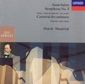 Saint-Saens: Symphony no 3, Carnival of the Animals / Dutoit