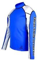 Freds swim academy Longsleeve azur blauw maat 140-146