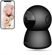 Orretti® HD WiFi Camera met Cloud opnames - 2 Megapixel - IP Video Beveiligingscamera met Nachtzicht Bewegingsdetectie - Babyfoon (Wit)