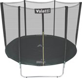 Valetti trampoline rond inclusief groene rand