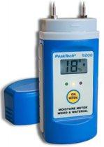 P5200: Vochtigheidsmeter voor hout en bouwmaterialen